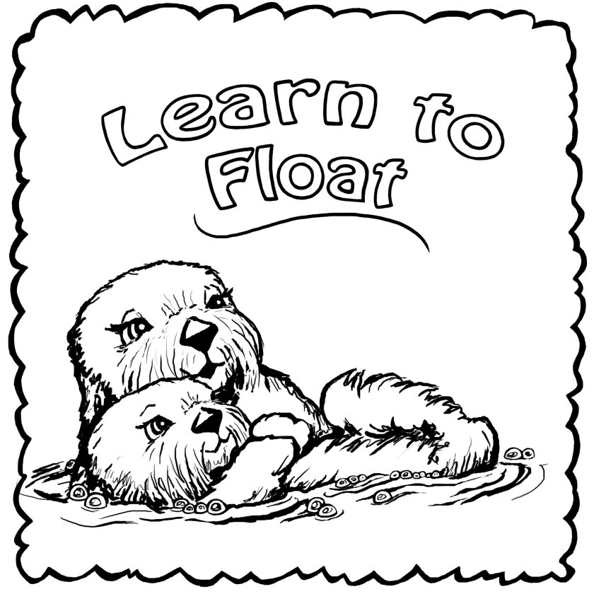 coloring pages  josh the otter
