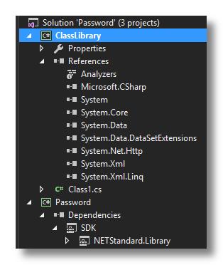 Standard versus Framework Library