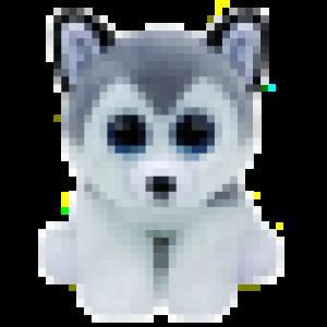 Digital Beanie Baby: Husky