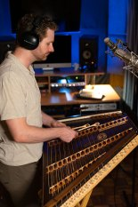 Hammered Dulcimer Recording Studio Session Joshua Messick