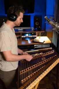 Hammered Dulcimer Recording Studio Session Joshua Messick