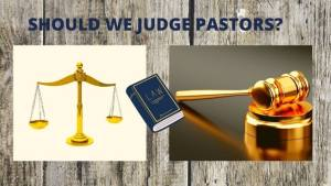 Read more about the article IS JUDGING PASTORS A SIN? | IT'S INSANE MATTHEW 7:1