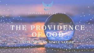 Read more about the article God's providence in overcoming sin
