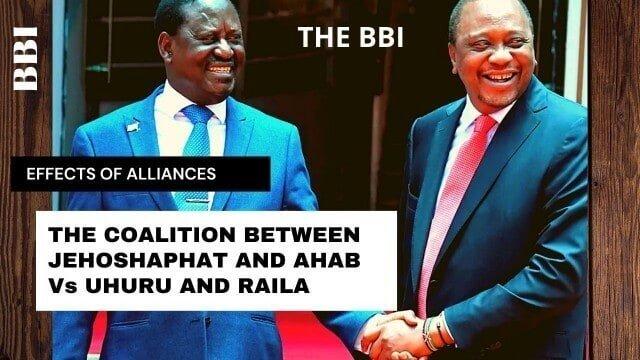 political allience between Raila and Uhuru and the BBI