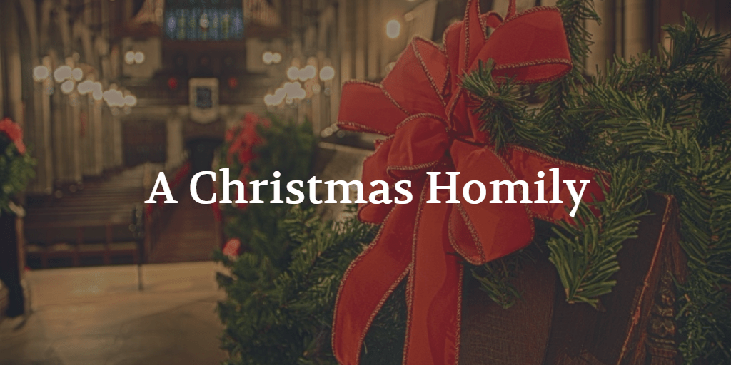 A Disappointing Christmas Homily