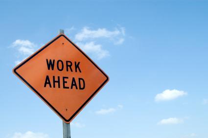 Work Ahead