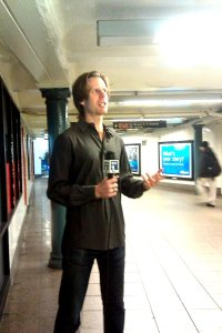 NY1 Interview for Union Square in Motion