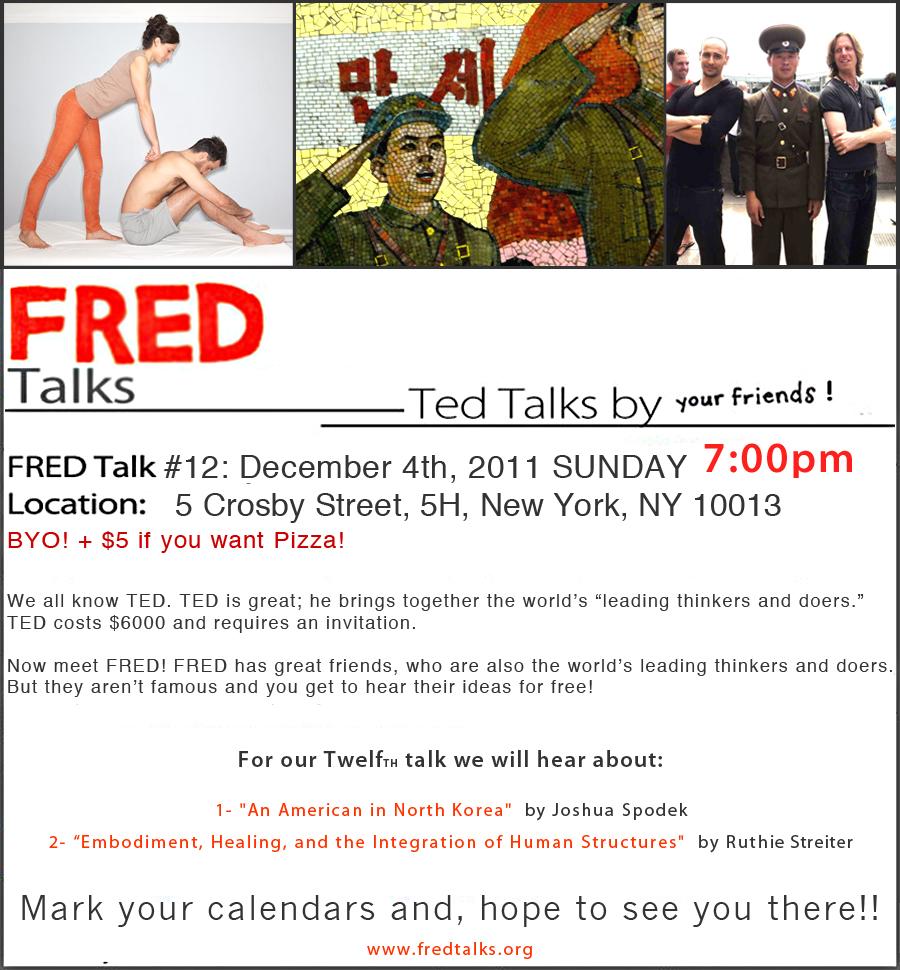 Fred Invitation North Korea