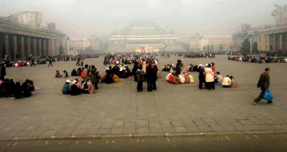 Kim Il Sung Square, April 14, 2012