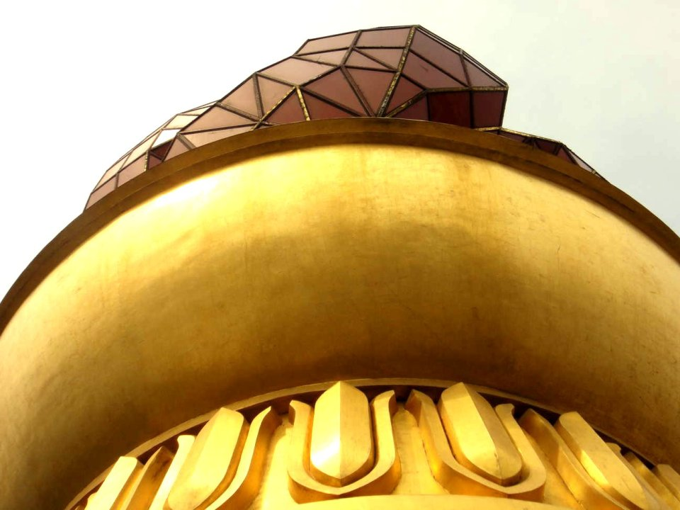 Juche tower close up