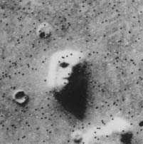 Mars Viking Orbiter Face photograph