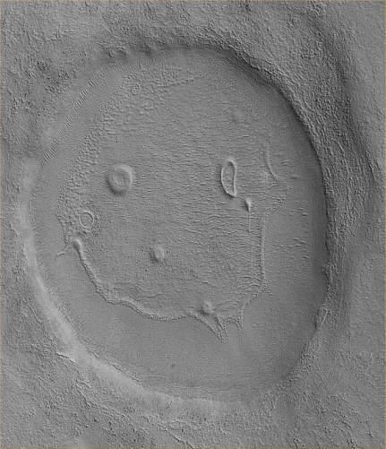 Mars Reconnaissance Orbiter face image