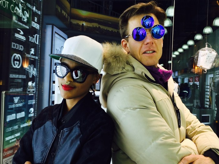 Joshua Spodek Coco Breezy Princ Sunglasses
