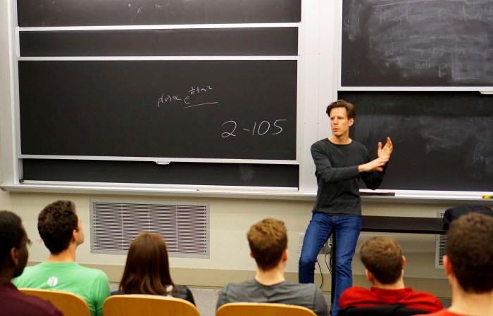 Joshua Spodek at MIT