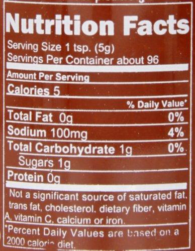 sriracha nutrition