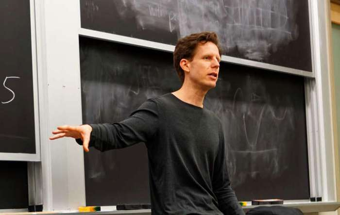 Joshua Spodek speaking at MIT 2015