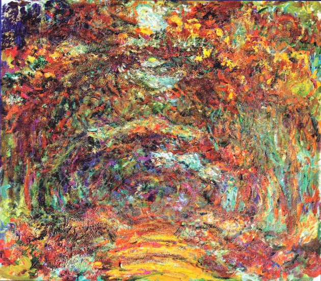 Monet-_Der_Rosenweg_in_Giverny_1922_33661