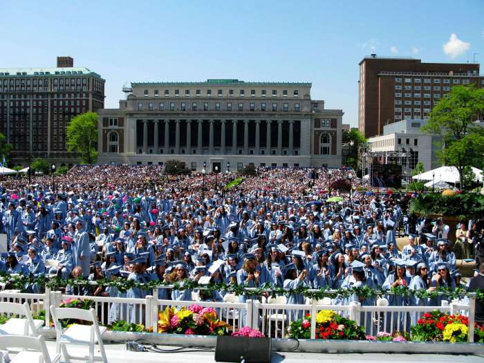 Columbia commencement
