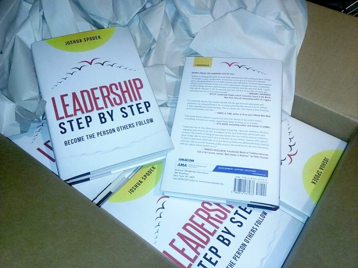 Leadership Step By Step Books