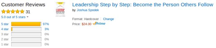 Customer Reviews Leadership Step by Step