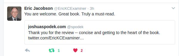 Eric Jacobson tweet