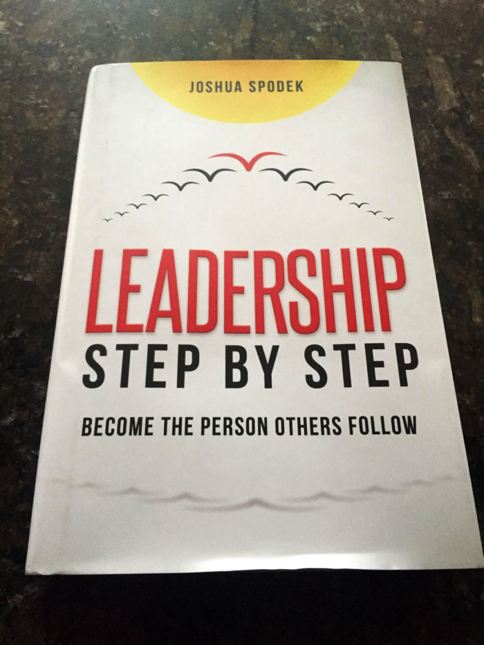 The first Leadership Step by Step sold