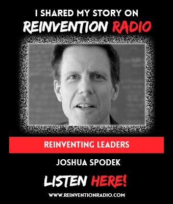 Joshua Spodek on Reinvention Radio with Steve Olsher