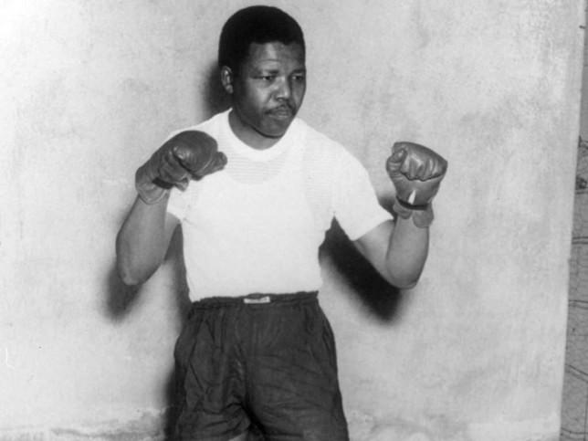 Nelson Mandela Boxing