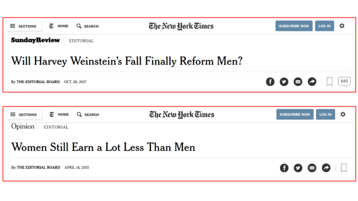 NYTimes editorial headlines