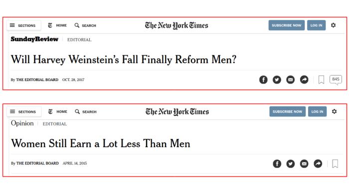 NYTimes editorial headlines
