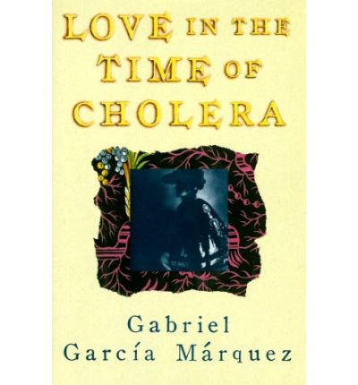 The cover of Love in the Time of Cholera I read