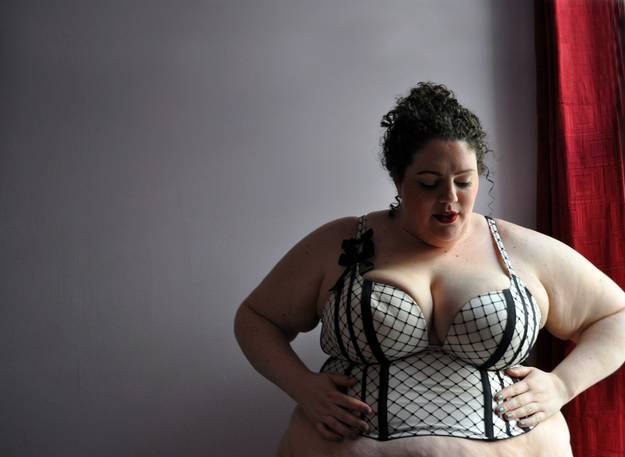 """First image from """"This Powerful Photo Series Proves That 'Fat' Is Beautiful"""""""