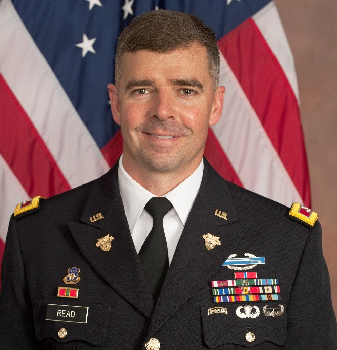 Colonel Mark Read