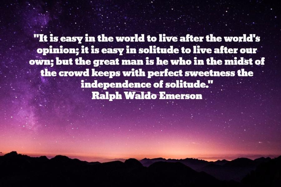 Emerson solitude