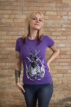 Violent Iris T-shirt Product Photography