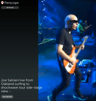 Joe Satriani LIVE from the Fox Theatre in Oakland