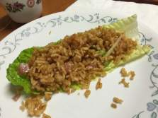 Crispy Rice with Pork