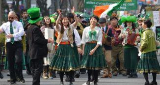 St. Patrick's Day in Tokyo, Japan