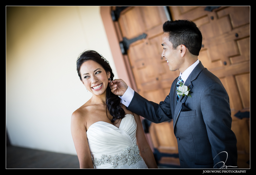 The Reveal - A magnificent wedding at Casa Real at Ruby Hill Winery, Pleasanton, Ca. Wedding pictures by San Francisco wedding photographer Josh Wong Photography