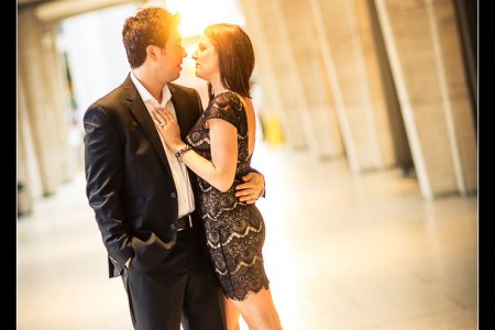 Lincoln Center engagement photos