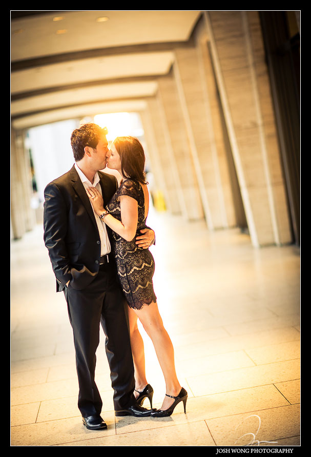 Lincoln Center Engagement Pictures in New York City