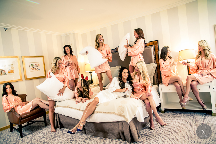 Wedding at The New York Palace Hotel - Bridal party bridesmaid pictures