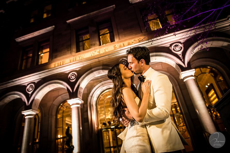 Wedding at The New York Palace Hotel - the lotte wedding pictures