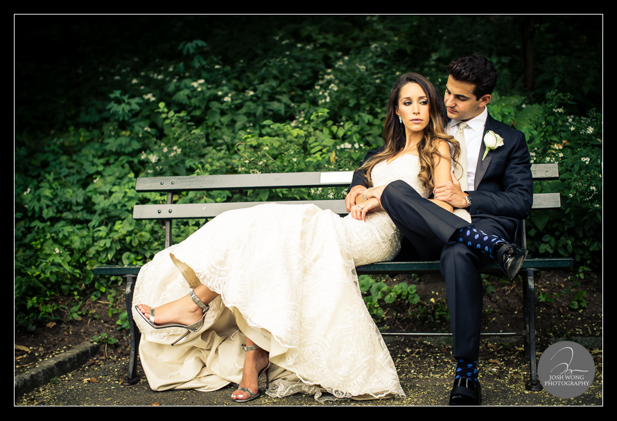 Central Park JW Marriott Essex House Wedding Pictures by Josh Wong Photography
