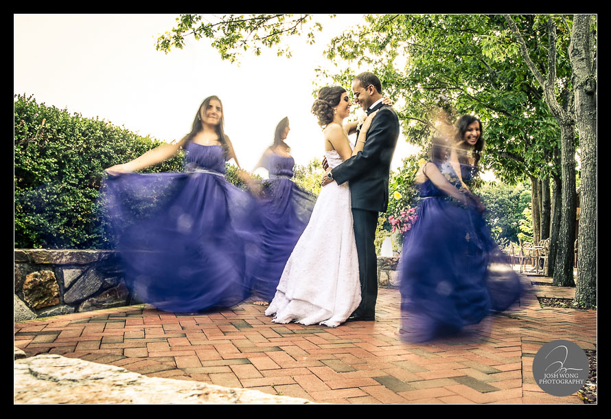 Crest Hollow Country Club wedding picture by Josh Wong Photography