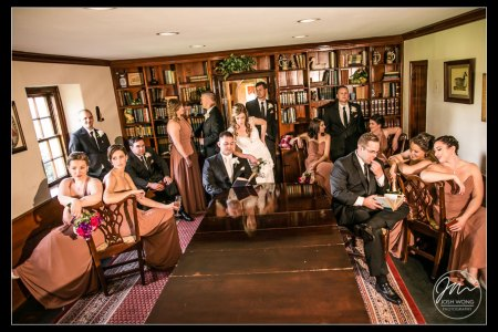 Joseph Ambler Inn Wedding Pictures - Jackie and Justin - Josh Wong Photography