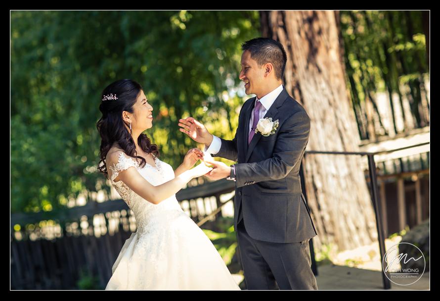 Hakone Estate and Garden Wedding Pictures Saratoga, CA. Wedding Photos by San Francisco Bay Area Wedding Photographer Josh Wong Photography