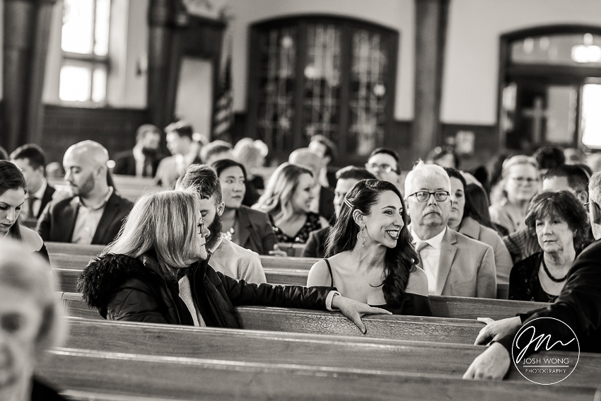 Wedding at Notre Dame R.C Church | Great Neck, New York . Wedding pictures by Josh Wong Photography