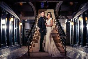 Del Posto Wedding Photos by New York Wedding Photographer Josh Wong