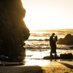 A Beautiful California Sunset - Engagement Photos in Santa Cruz